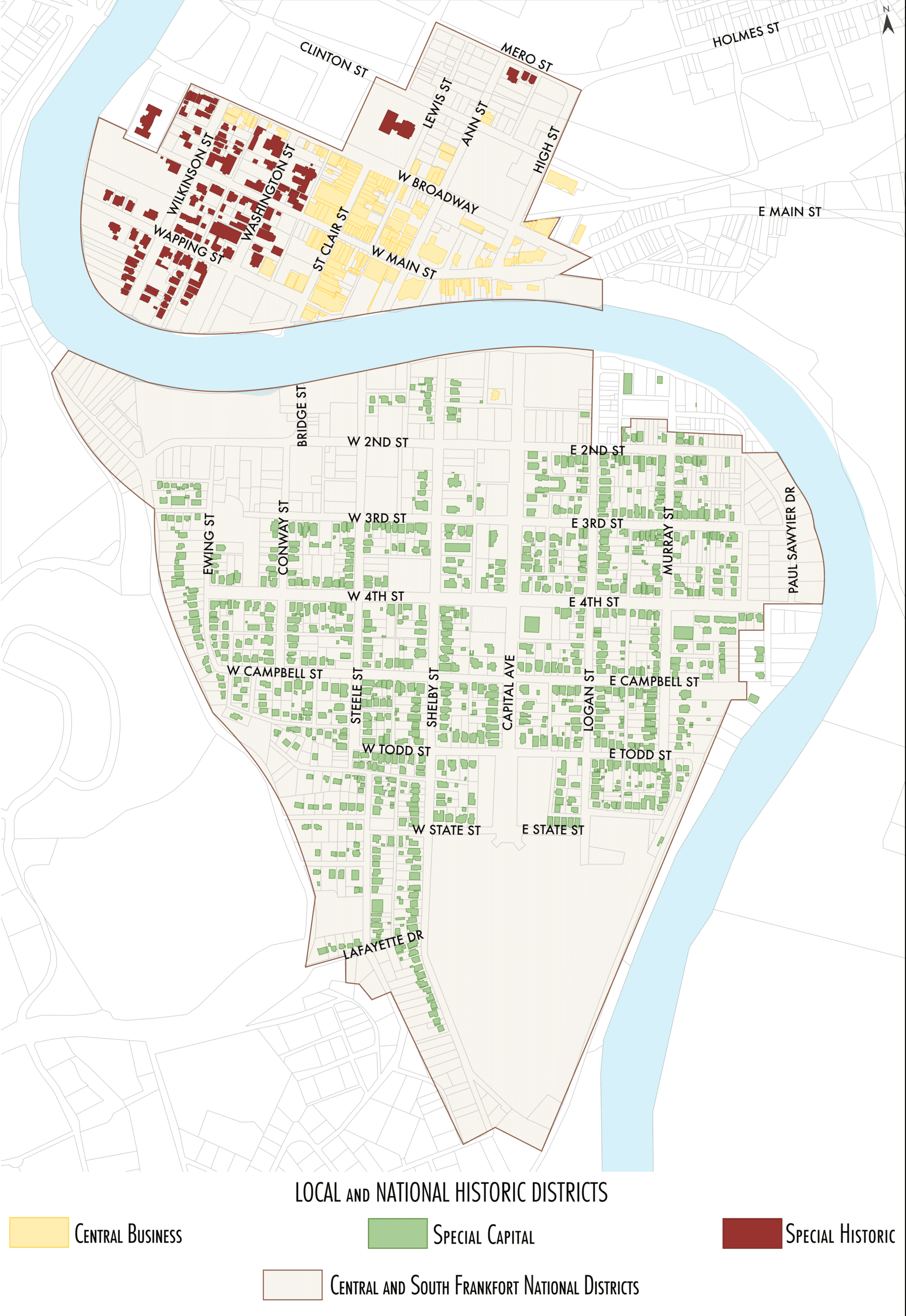 Historic Districts Map