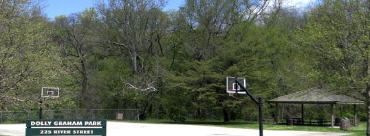 Dolly Graham Park basketball court