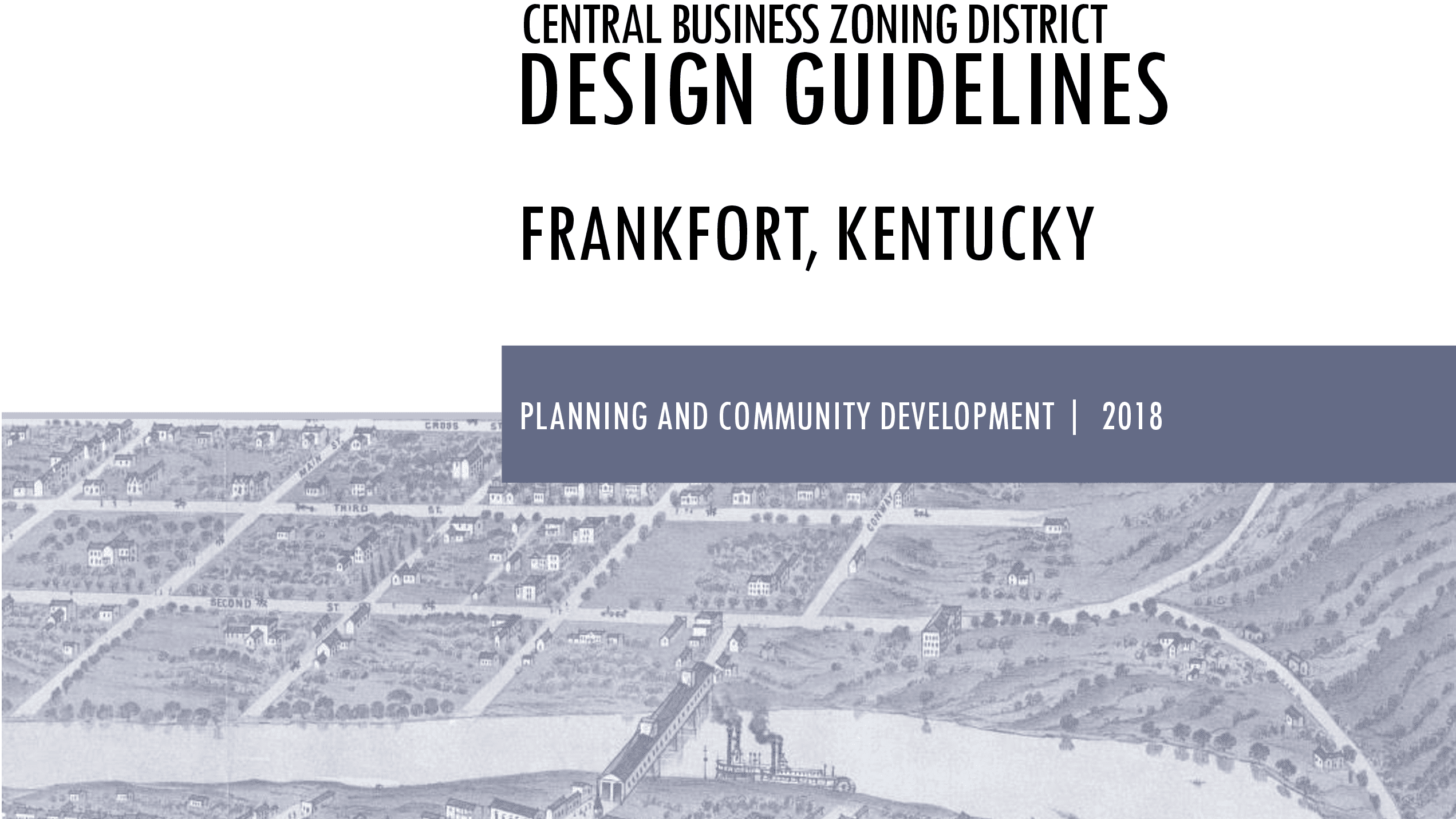 Central Business District Design Guidelines