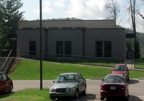 Exterior view of the Sewer Department lab