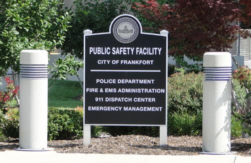 Public Safety Building Sign