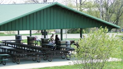 Picnic shelter at Jack Williams Pavilion